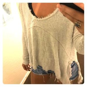 Free People Sweater shirt